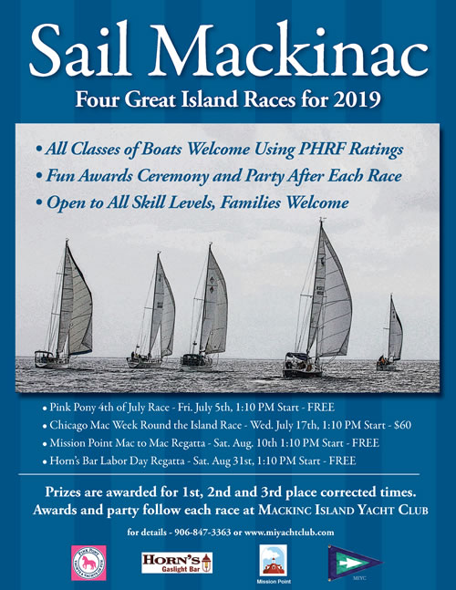 Races of Interest to Mackinac Island Yacht Club Members